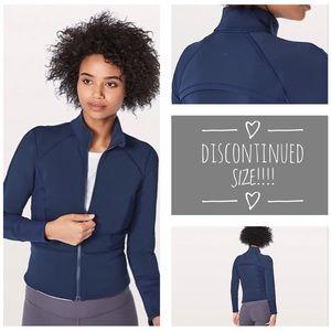 Front & Centre Jacket Blue Lululemon Size 2